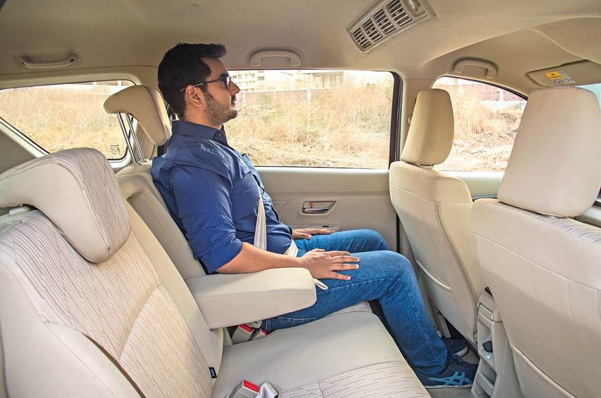 Maruti Suzuki Ertiga second row seats