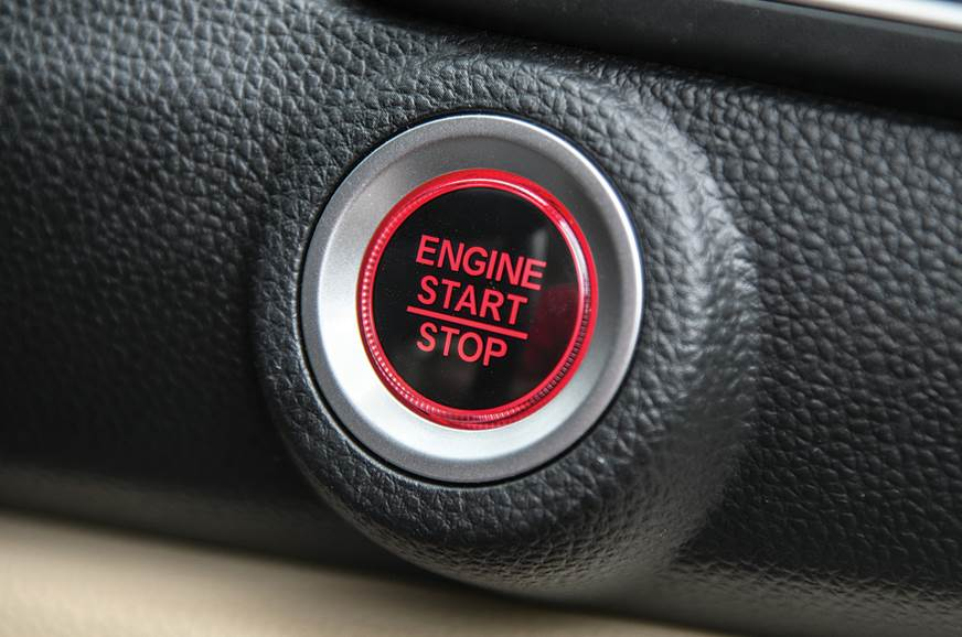 Honda Amaze push button start