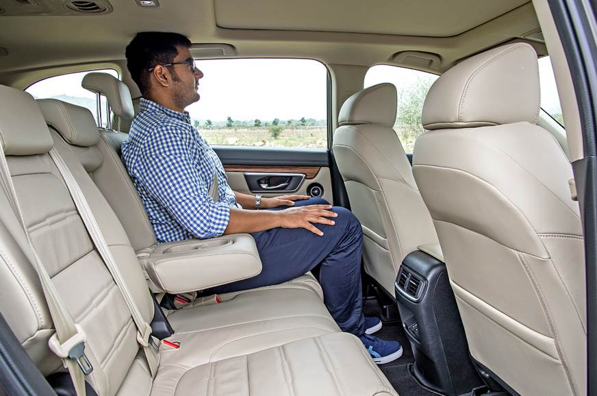 Honda CR-V second row