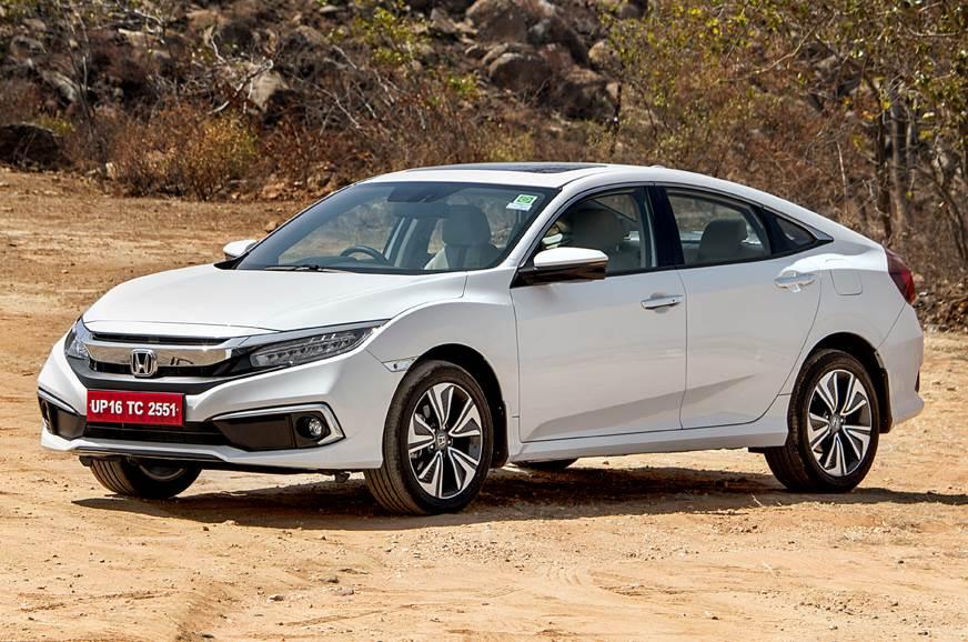 2019 Honda Civic front static