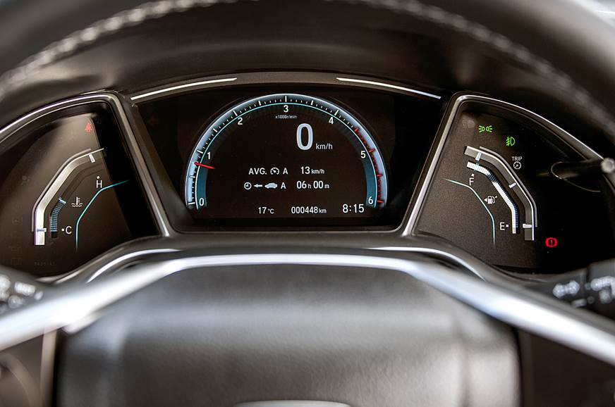 2019 Honda Civic instrument cluster