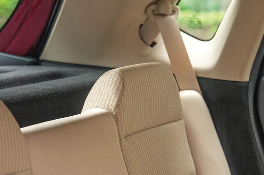 Honda Jazz rear seat head rests