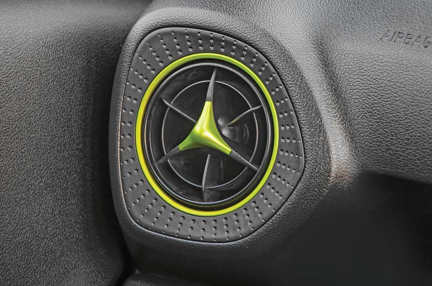 Hyundai Santro AC vent