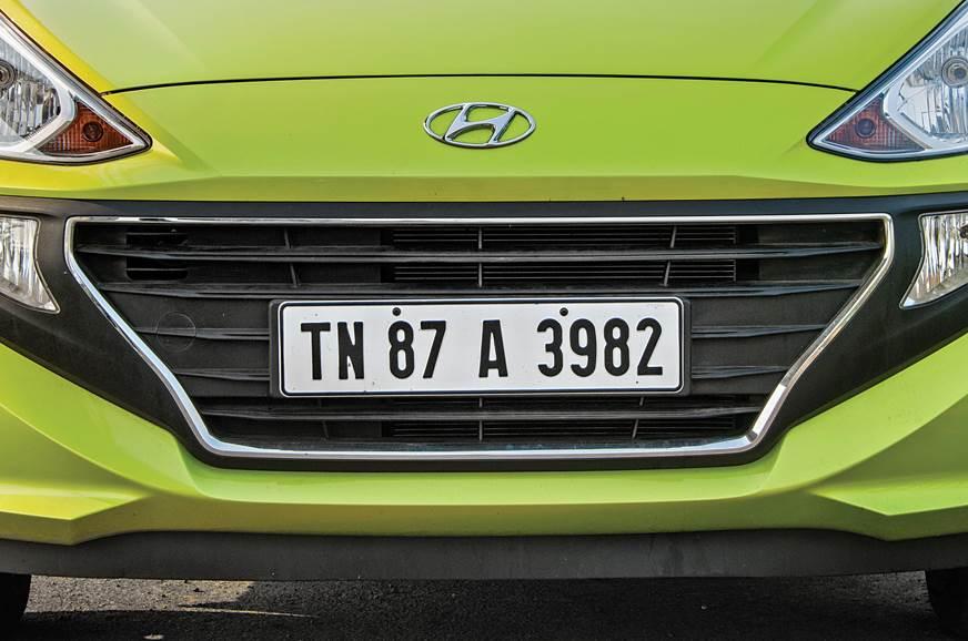 Hyundai Santro grille