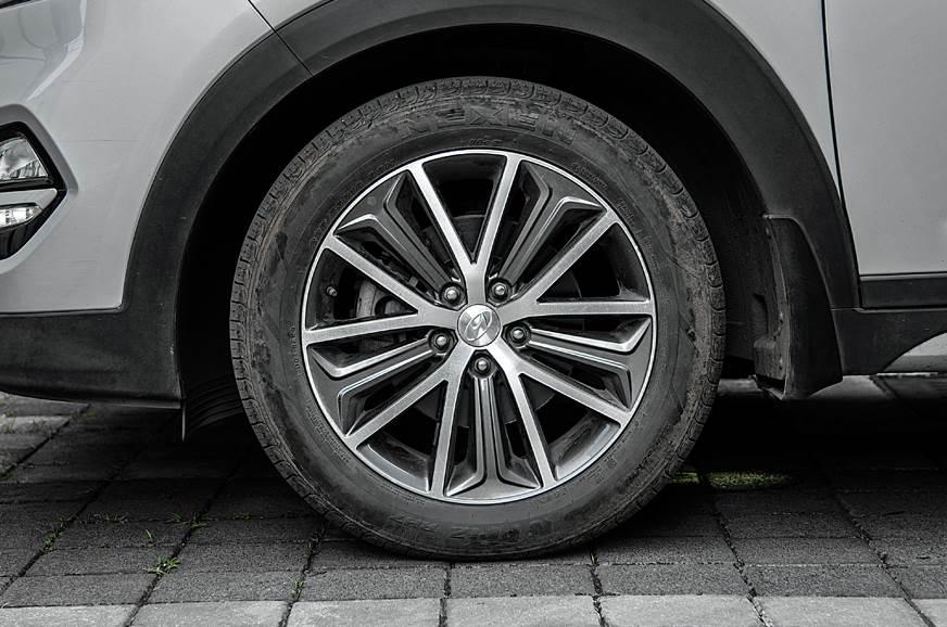 2017 Hyundai Tucson wheel tyre suspension