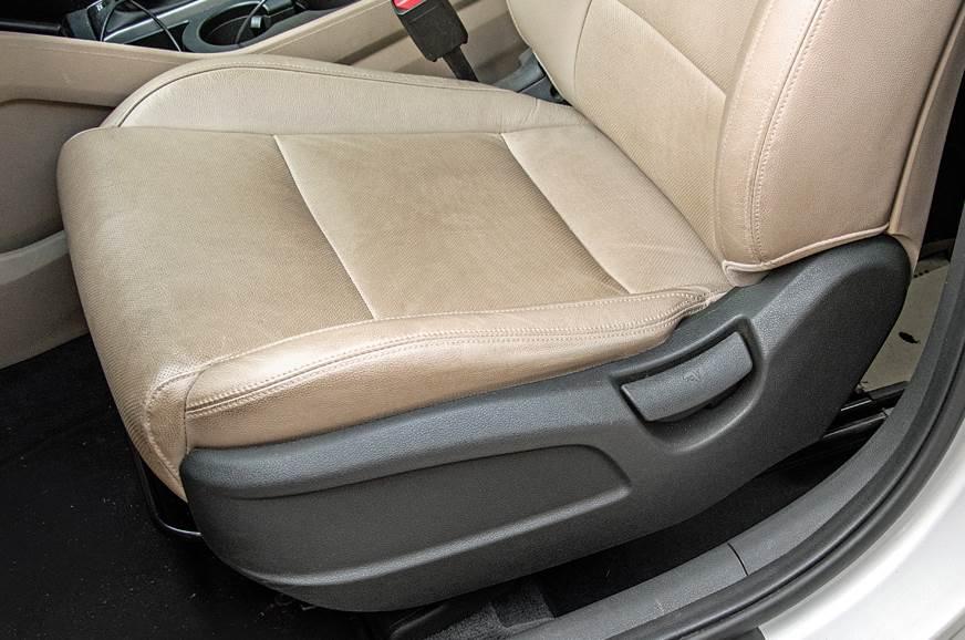 Hyundai Tucson long term review front passenger seat