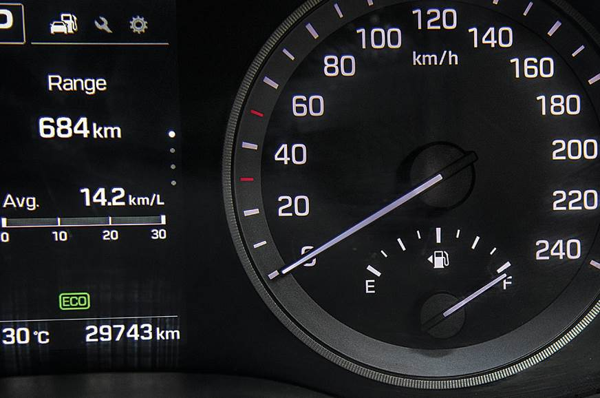 2017 Hyundai Tucson fuel and range