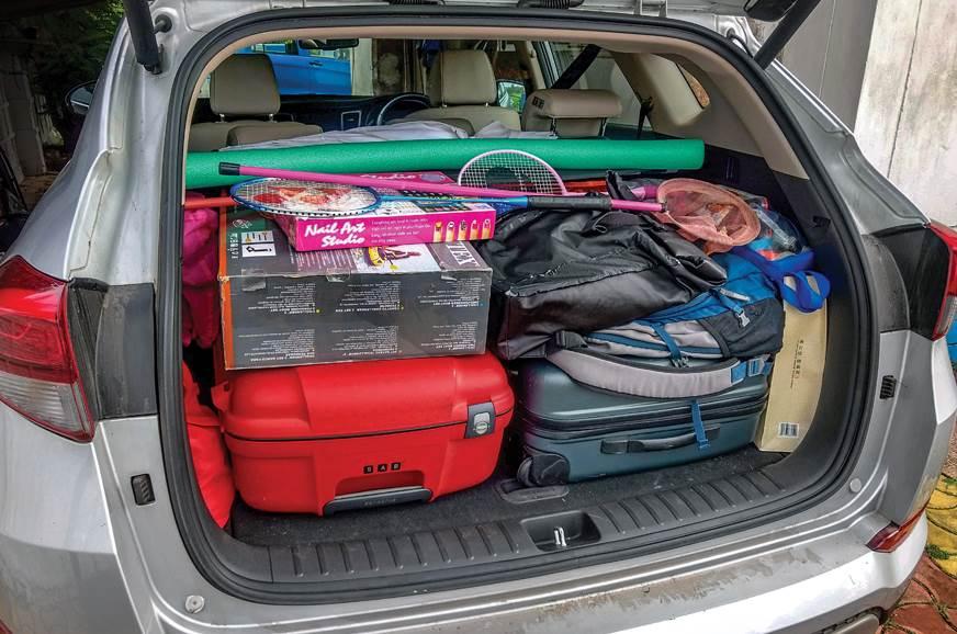 Hyundai Tucson long term review boot