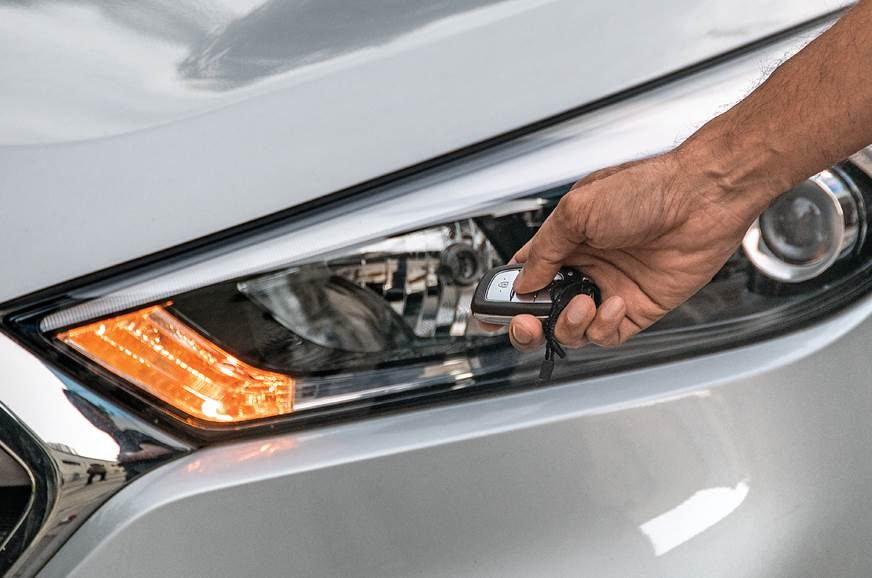 Hyundai Tucson long term review remote