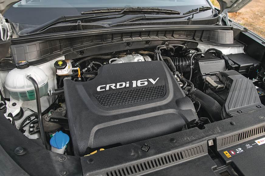 Hyundai Tucson engine