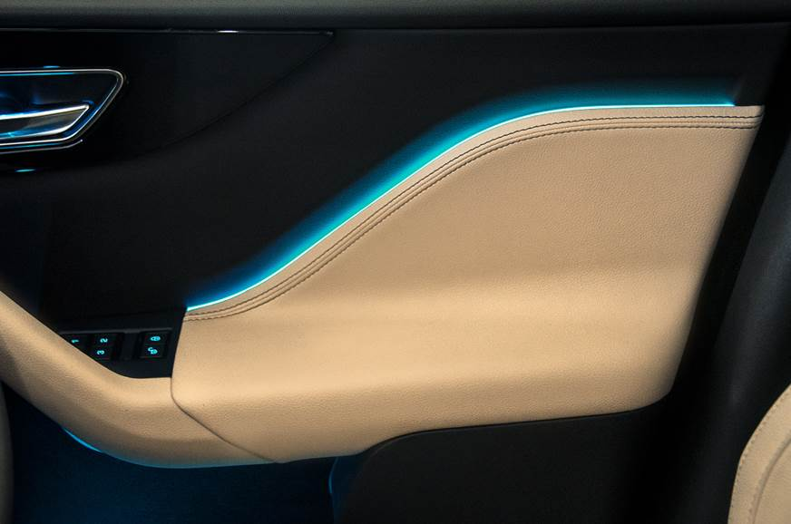 Jaguar F-Pace petrol ambient light