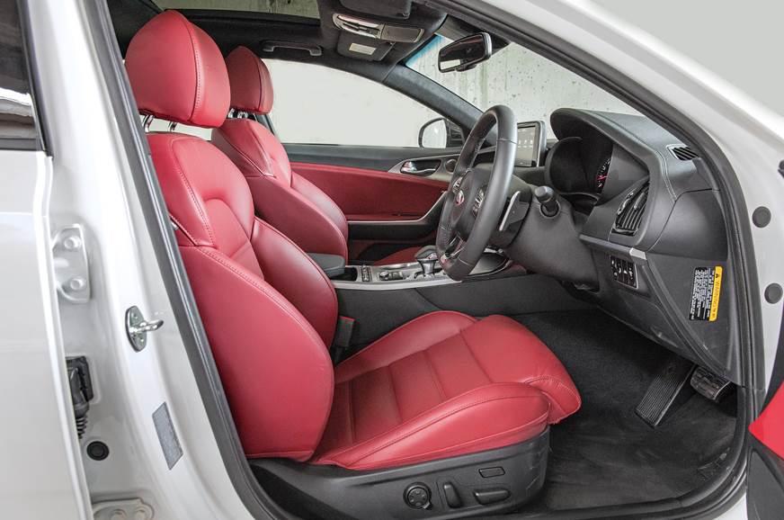 Kia Stinger front seat