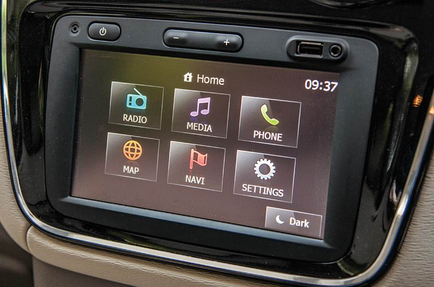 Renault Lodgy infotainment