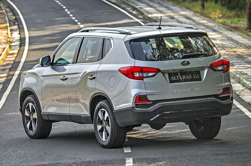 Mahindra Alturas G4 rear static