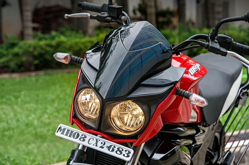 Mahindra Mojo UT 300 headlight