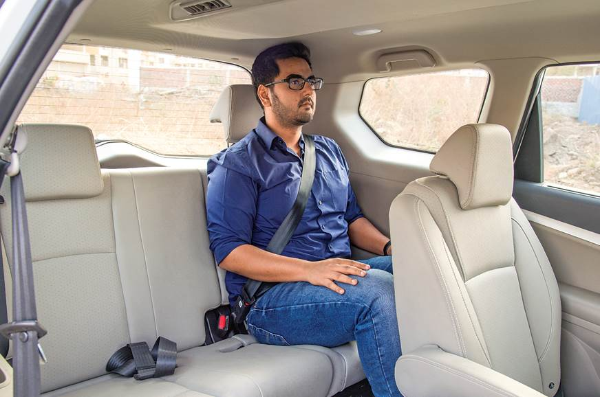 Mahindra Marazzo third row seats