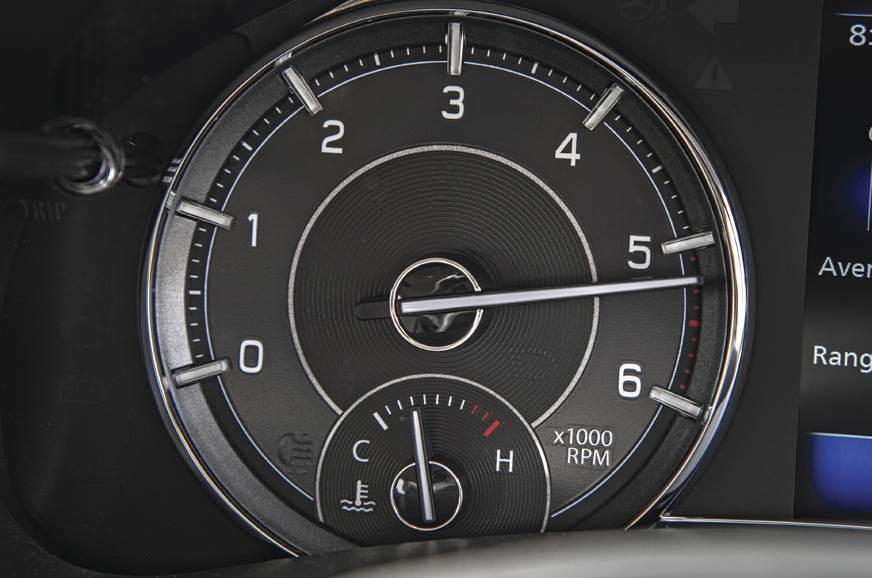 Maruti Suzuki Ciaz 1.5 diesel tachometer