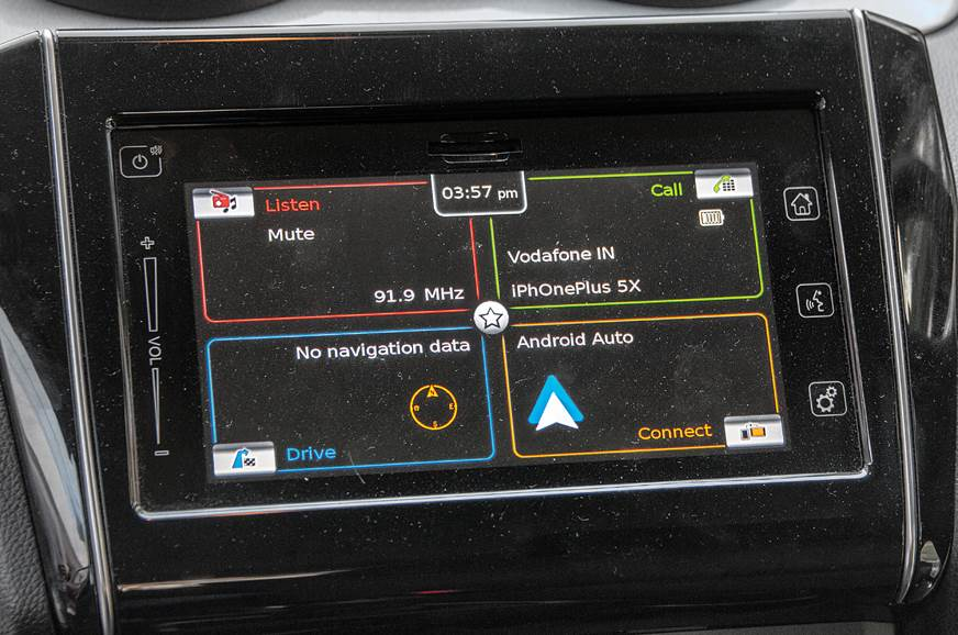 Maruti Suzuki Swift infotainment