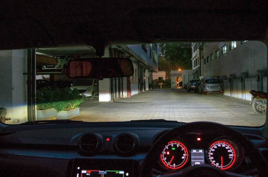 Maruti Suzuki Swift LED headlamps