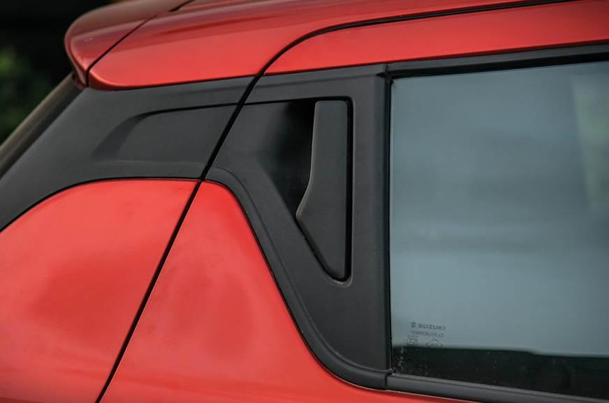 Maruti Suzuki Swift rear door handle