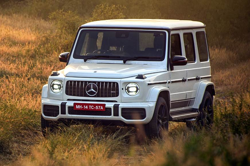 2018 Mercedes-AMG G 63 front static