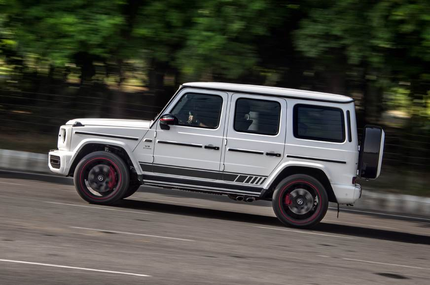 2018 Mercedes-AMG G 63 side action