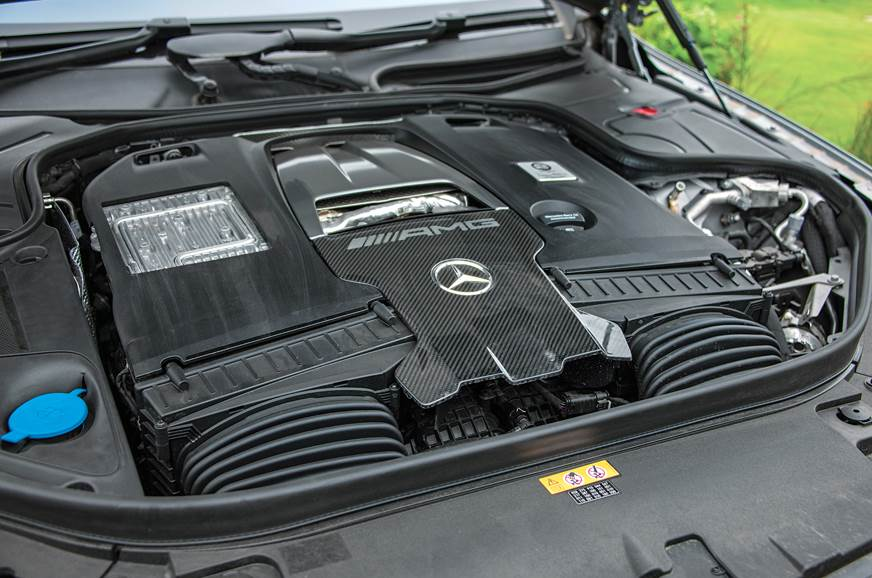 Mercedes-AMG S 63 Coupe engine