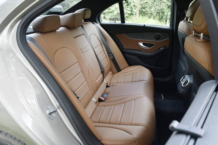 2018 Mercedes-Benz C 300d rear seats