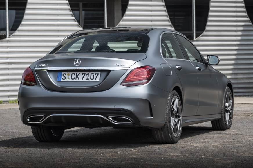 Mercedes C300d rear static