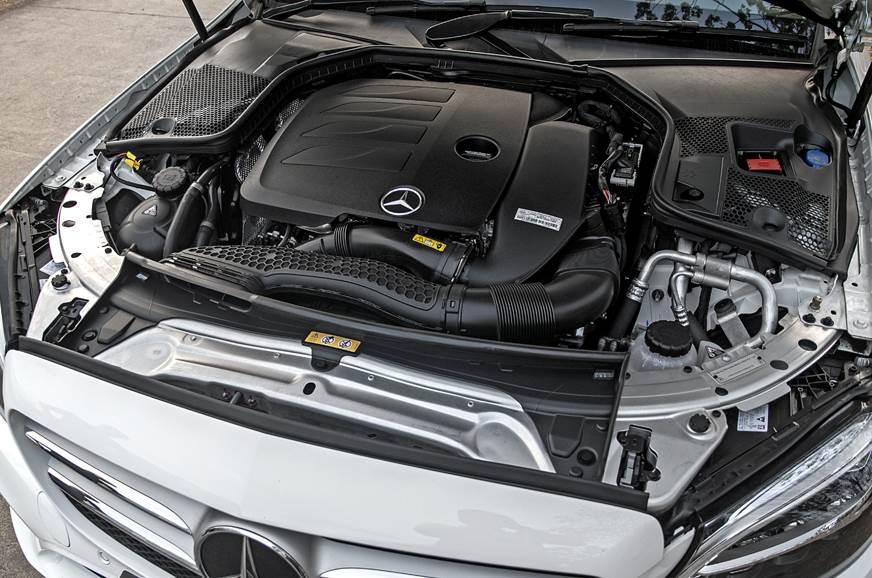 2019 Mercedes-Benz C 200 petrol engine