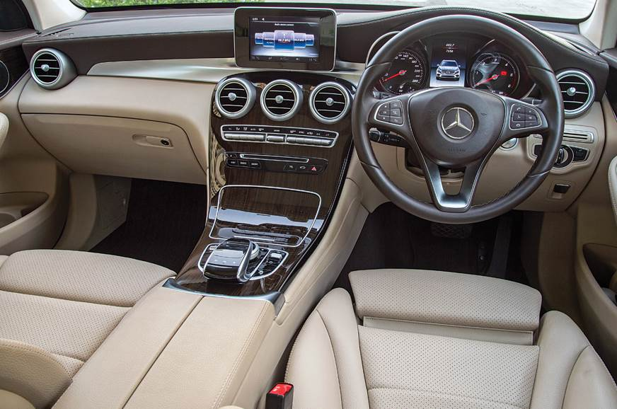Merc GLC dashboard