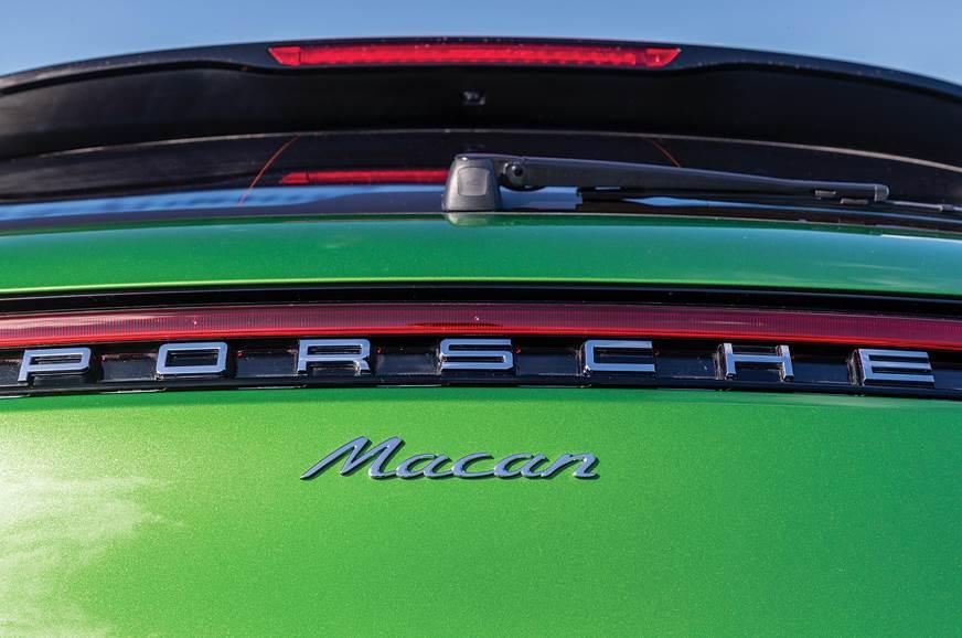Porsche Macan tailgate