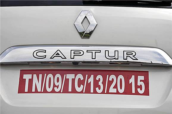 Renault Captur detail