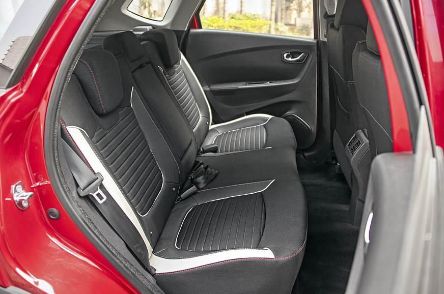 Renault Captur rear seat