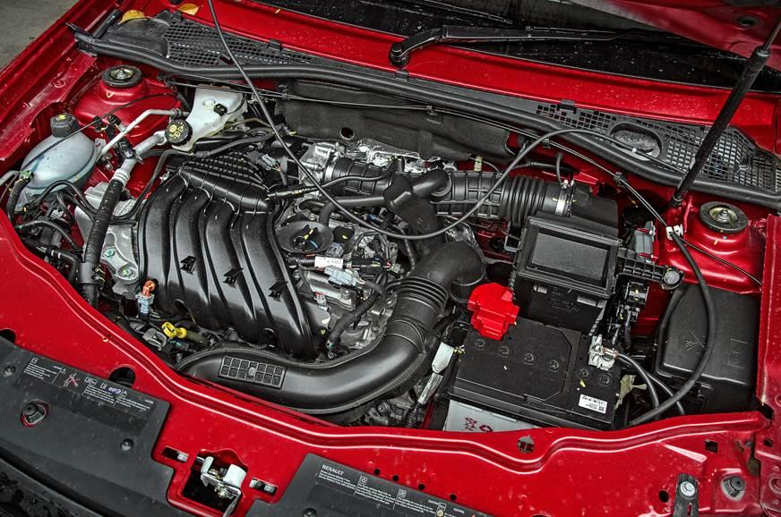 Renault Duster CVT petrol engine