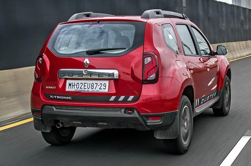 Renault Duster CVT rear action