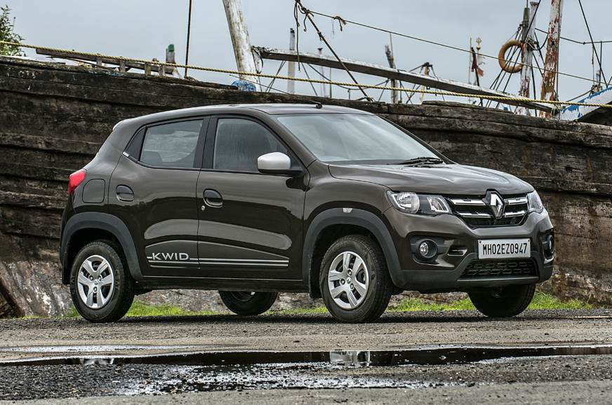 2018 Renault Kwid AMT front static