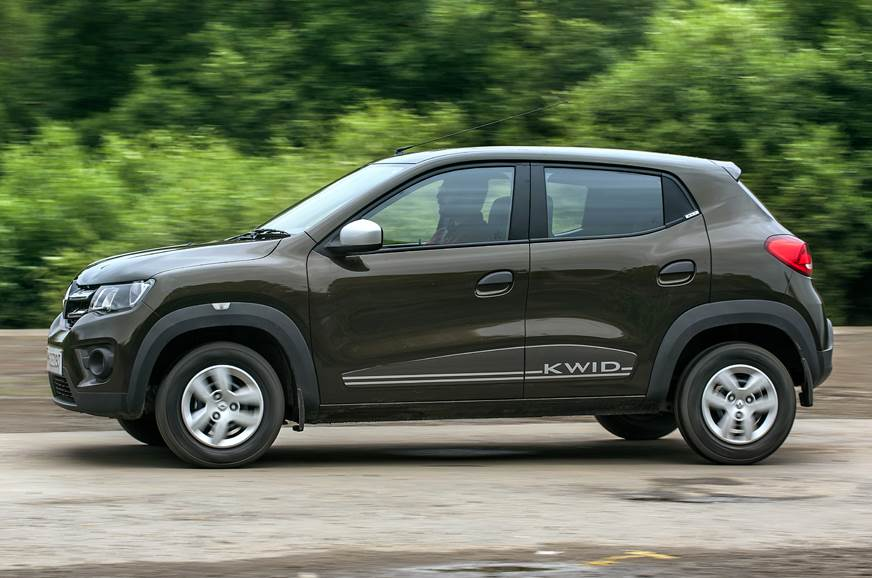 2018 Renault Kwid AMT side action