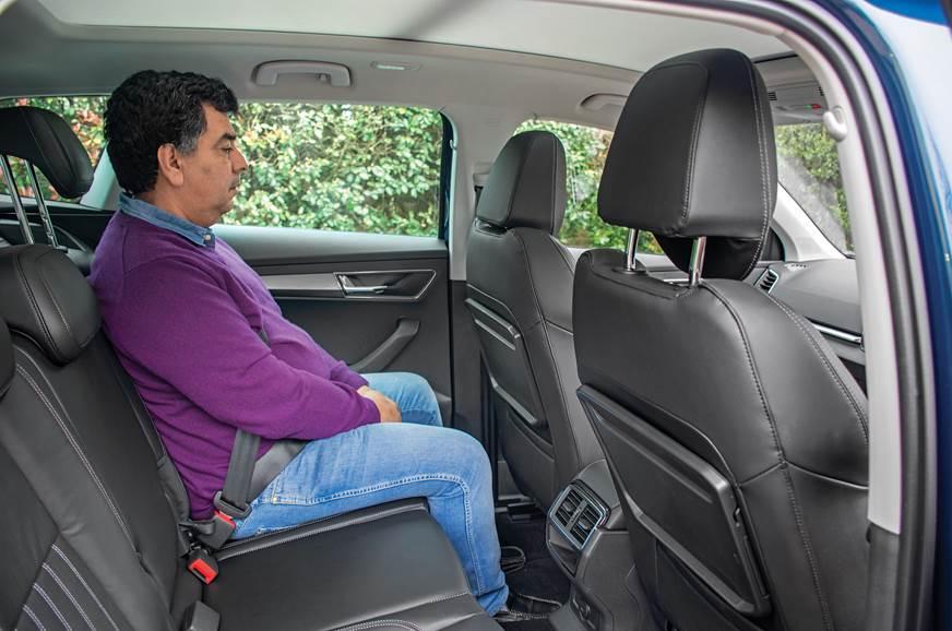 Skoda Karoq rear seat