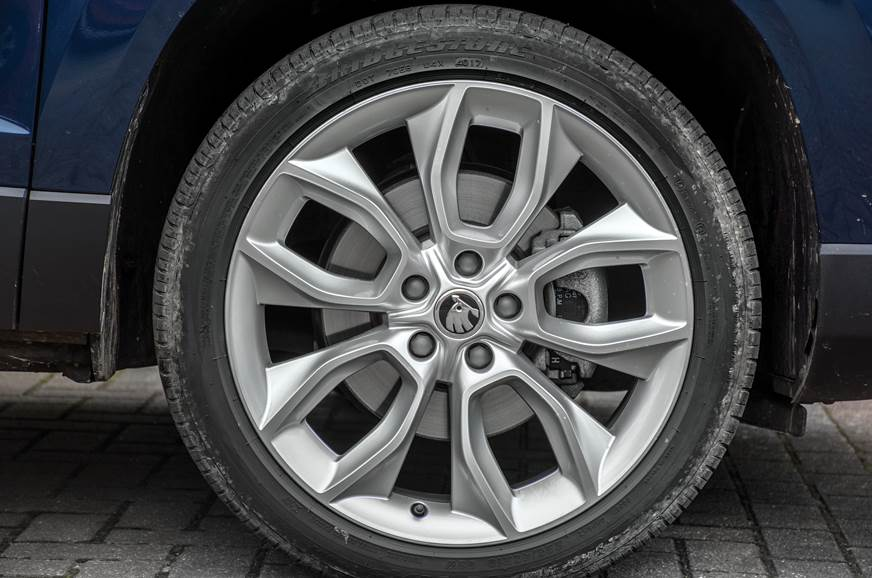 Skoda Karoq wheel