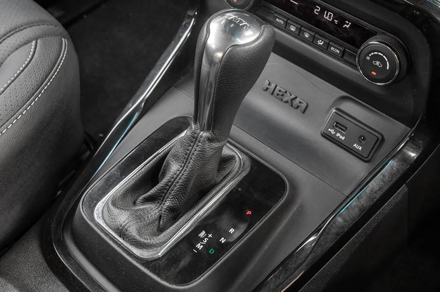 Tata Hexa automatic gear