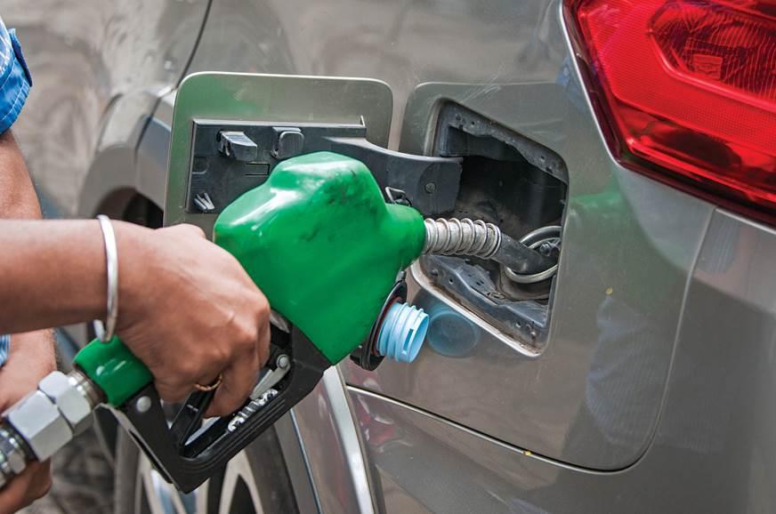 Tata Hexa fuel filling