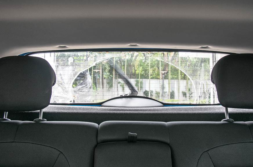 Tata Nexon rear window