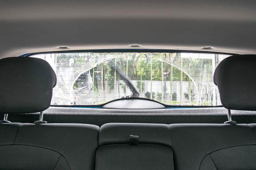 Tata Nexon rear window