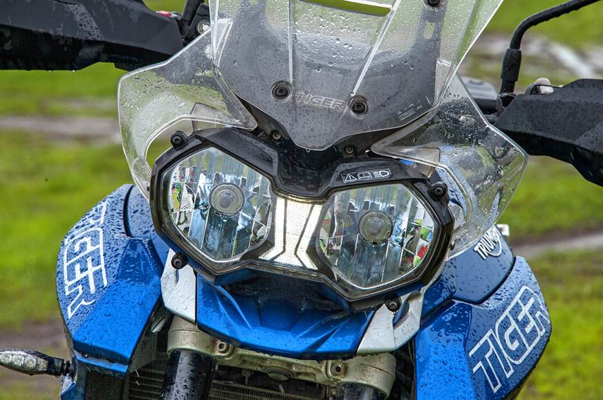 Triumph Tiger 800 XRx headlamp