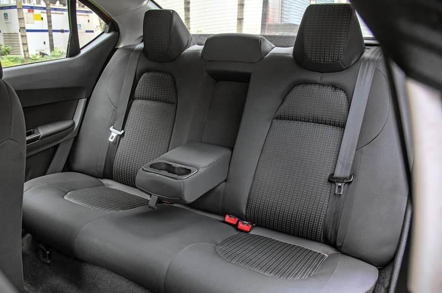Tata Tigor AMT rear seats