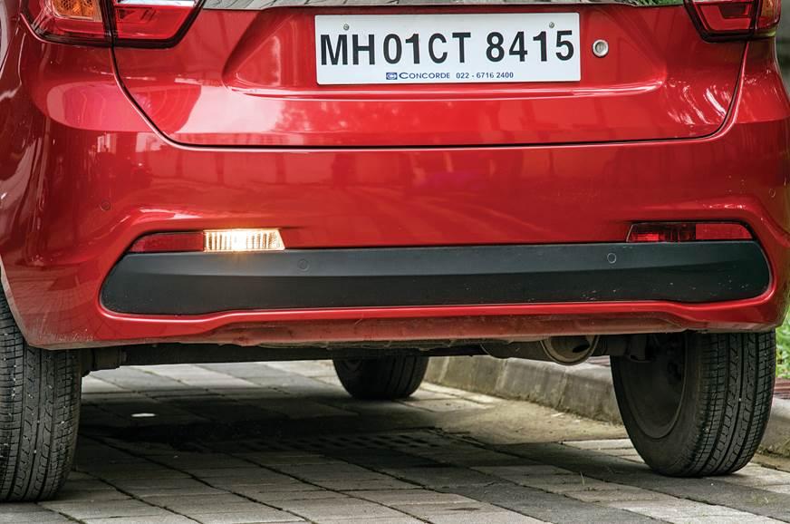 Tata Tigor AMT reverse light