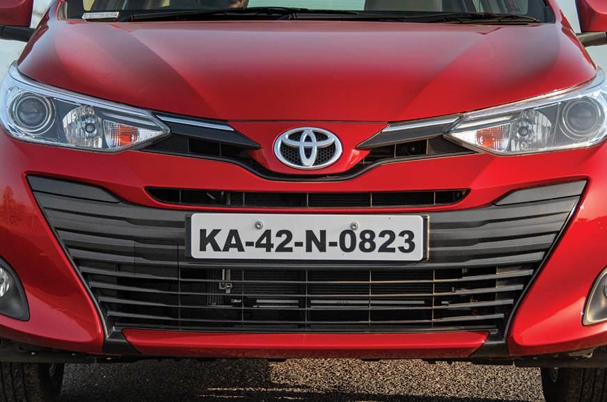Toyota Yaris grille