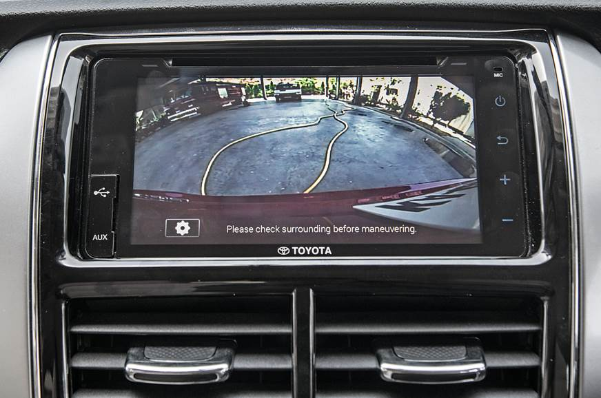 Toyota Yaris rear camera