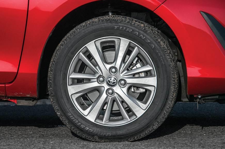 Toyota Yaris tyre